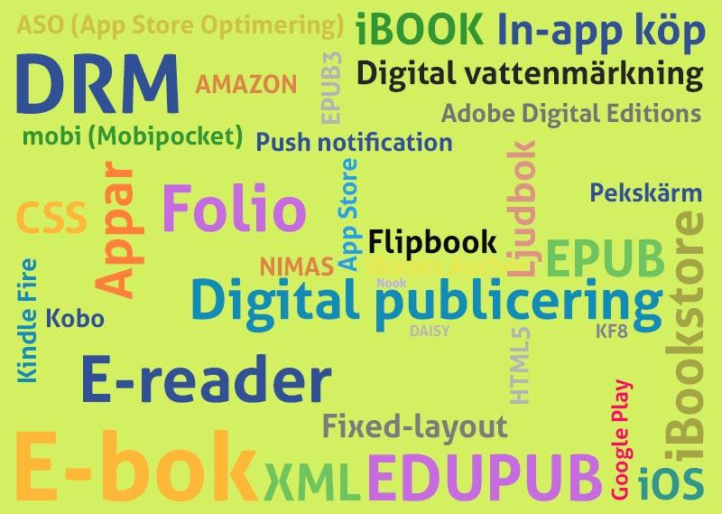Ordlista För Digital Publicering